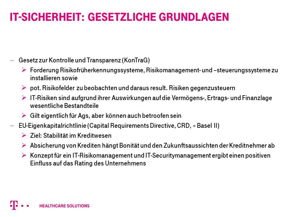Berechtigungskonzept: Nutzung der DIN 22600 Privilegienmanagement und Zugriffssteuerung a.