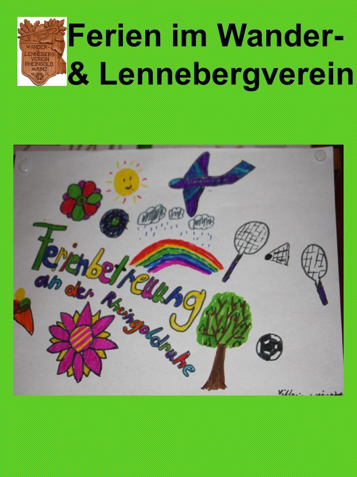 Ferien im Wander- & Lennebergverein