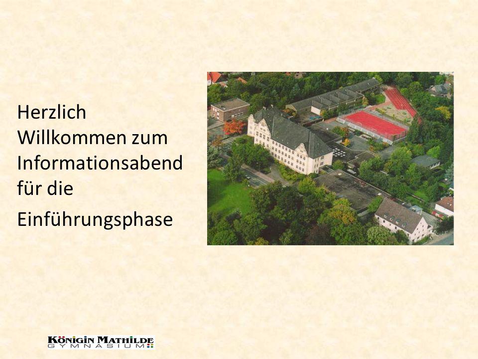 Aufbau und Dauer der gymnasialen Oberstufe EF Q1 Q2 Abiturprüfung Höchstverweildauer: 4 Jahre Regeldauer: 3 Jahre Max.