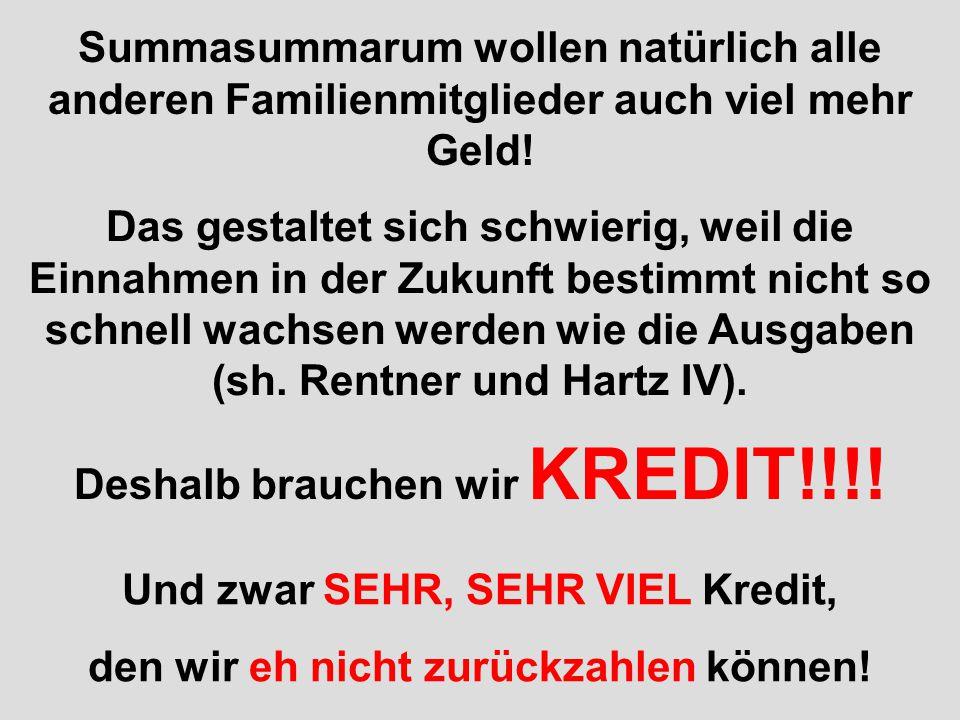verteilt durch www.funmail2u.dewww.funmail2u.de Bei Tante Ursula muss man allerdings mit dem Schlimmsten rechnen! 2009 brauchte ihr Vorgänger noch 124