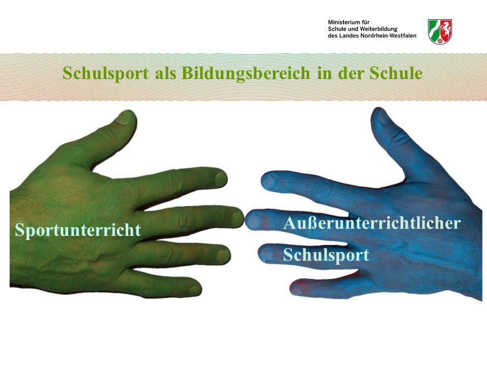 Bewegungsfelder und Sportbereiche 3.