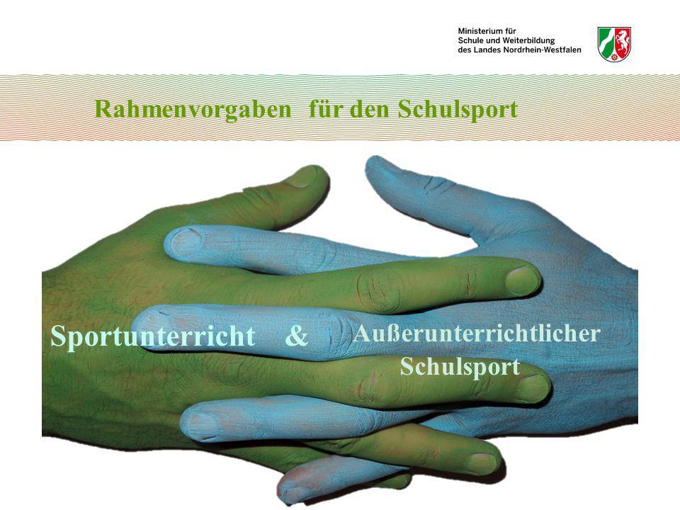 Bewegungsfelder und Sportbereiche 4.