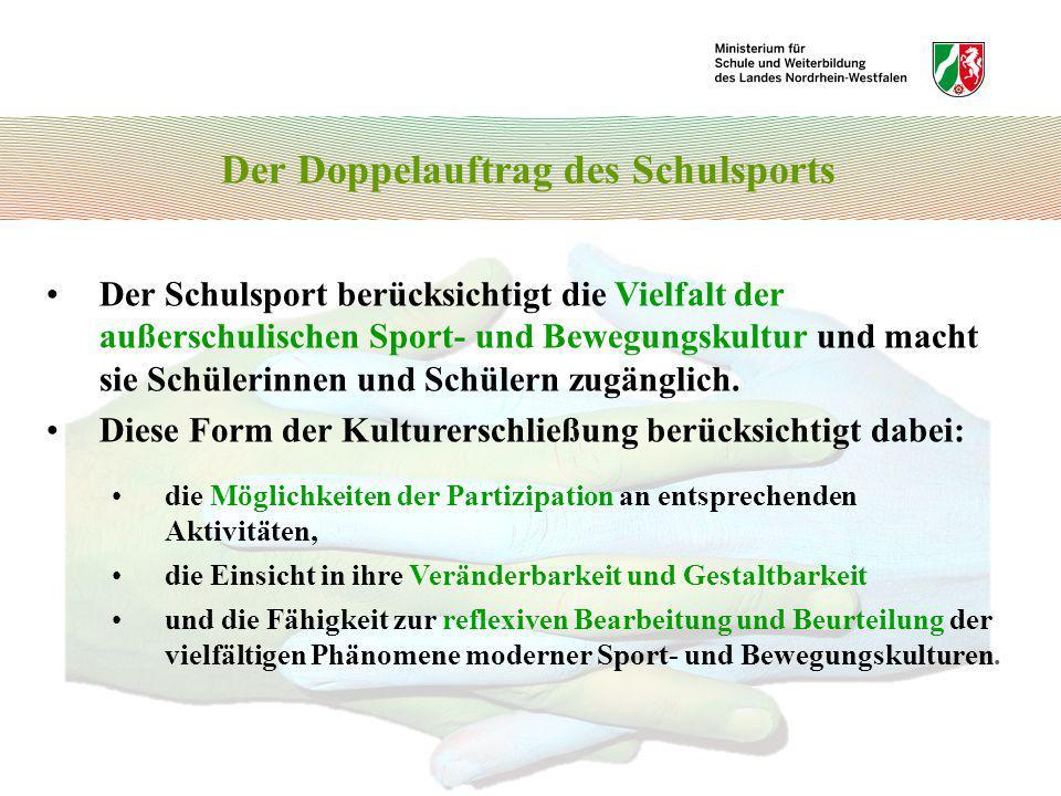 Bewegungsfelder und Sportbereiche 8.