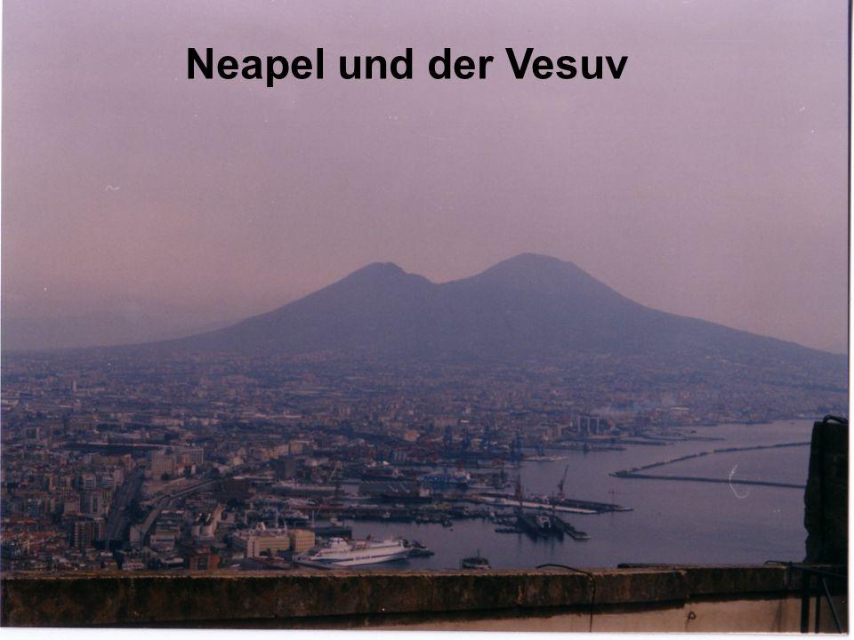 Neapel und der Vesuv