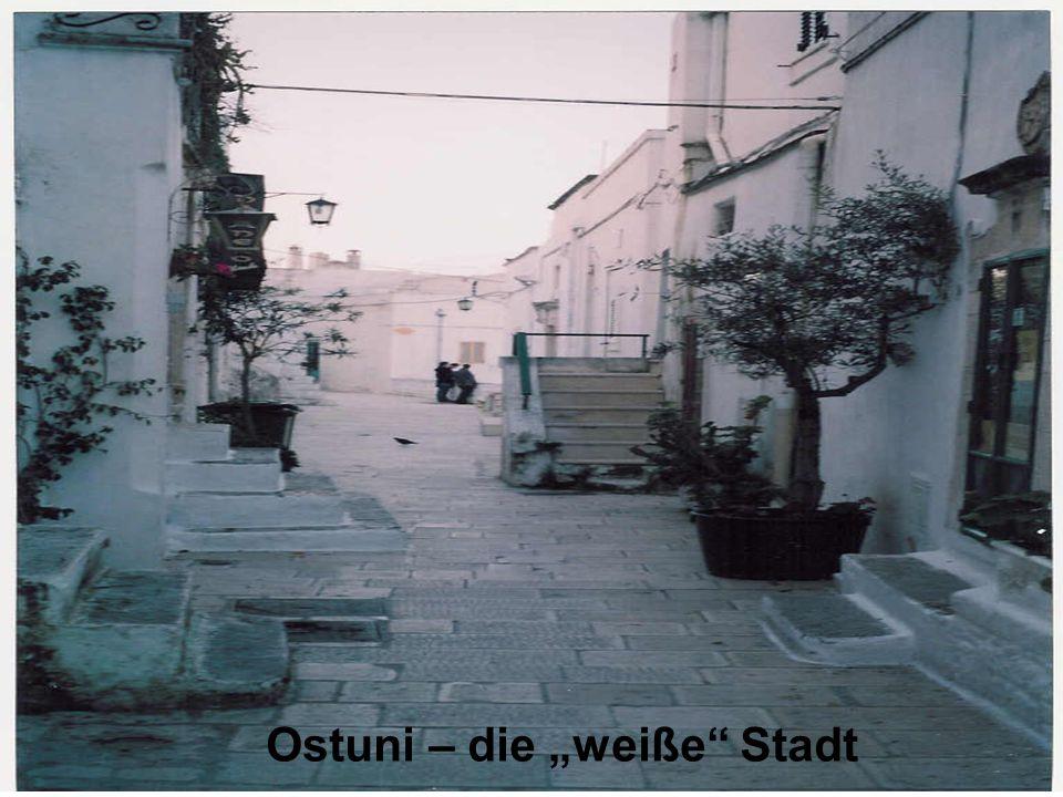 """Ostuni – die """"weiße Stadt"""