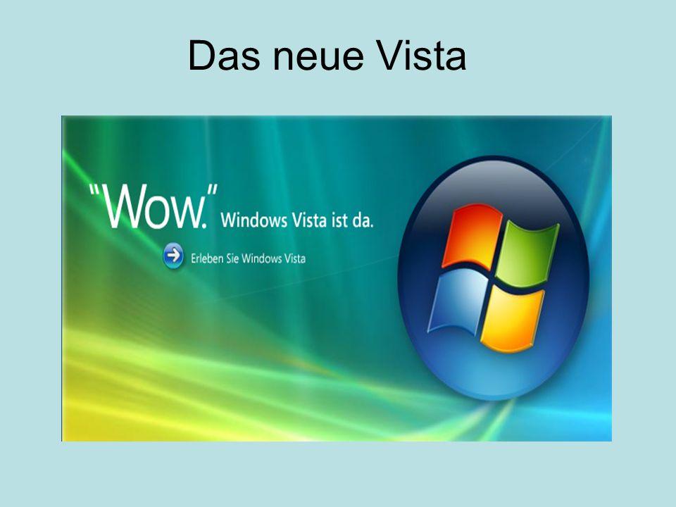 Das neue Vista
