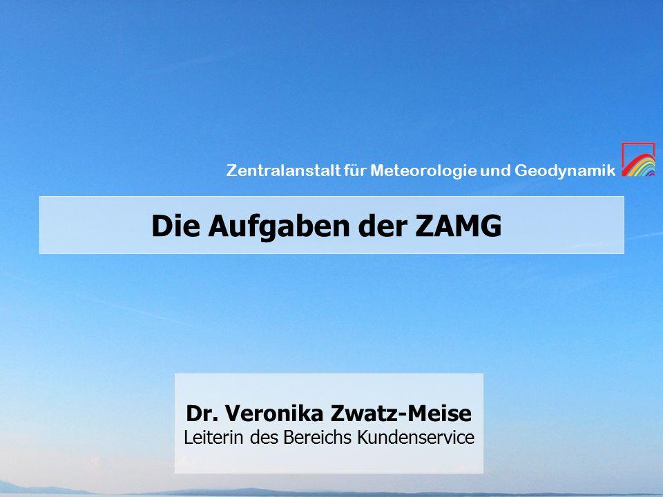 Zentralanstalt für Meteorologie und Geodynamik Dr.