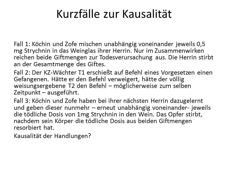 Fall 1: A.STRAFBARKEIT NACH 212 I. Tatbestand 1.