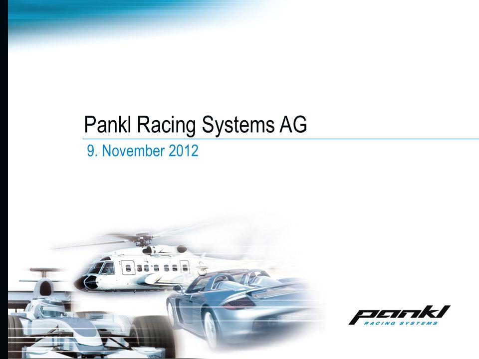Pankl Racing Systems AG 9. November 2012