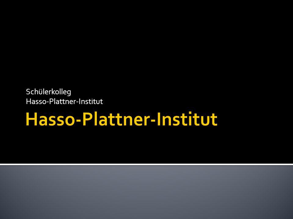 Schülerkolleg Hasso-Plattner-Institut