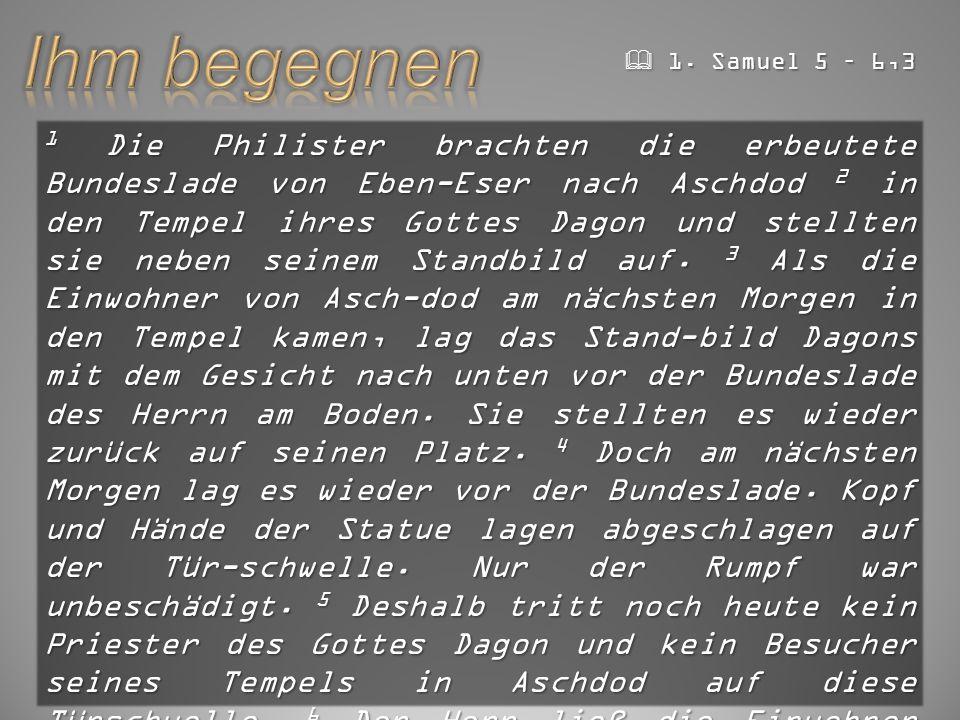  GZD 2015 Der, der euch berufen hat, ist heilig. 1.