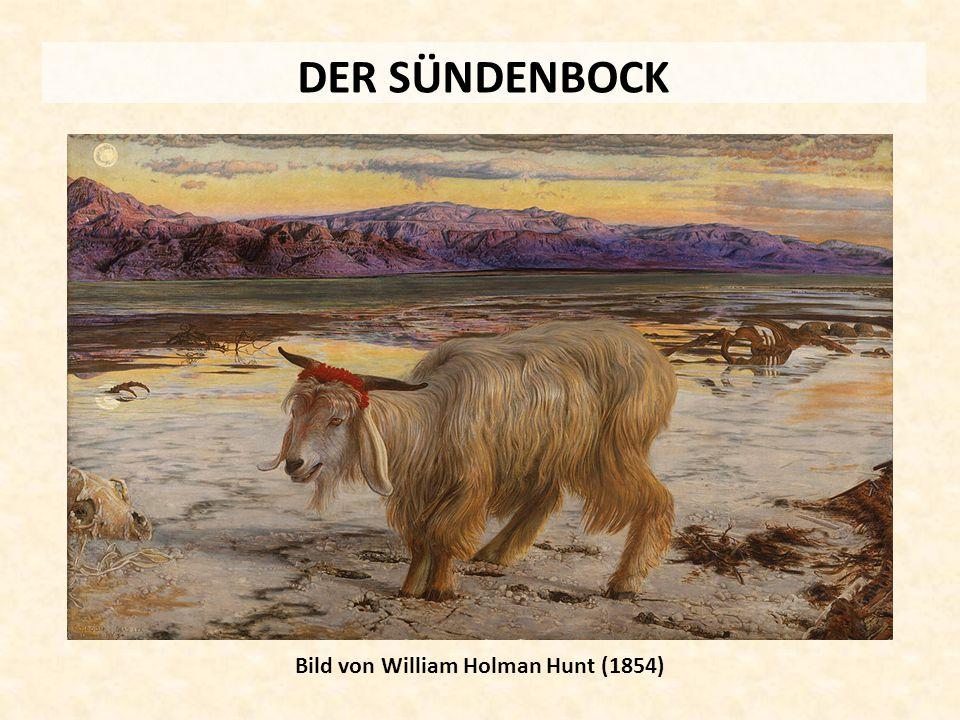 DER SÜNDENBOCK Bild von William Holman Hunt (1854)