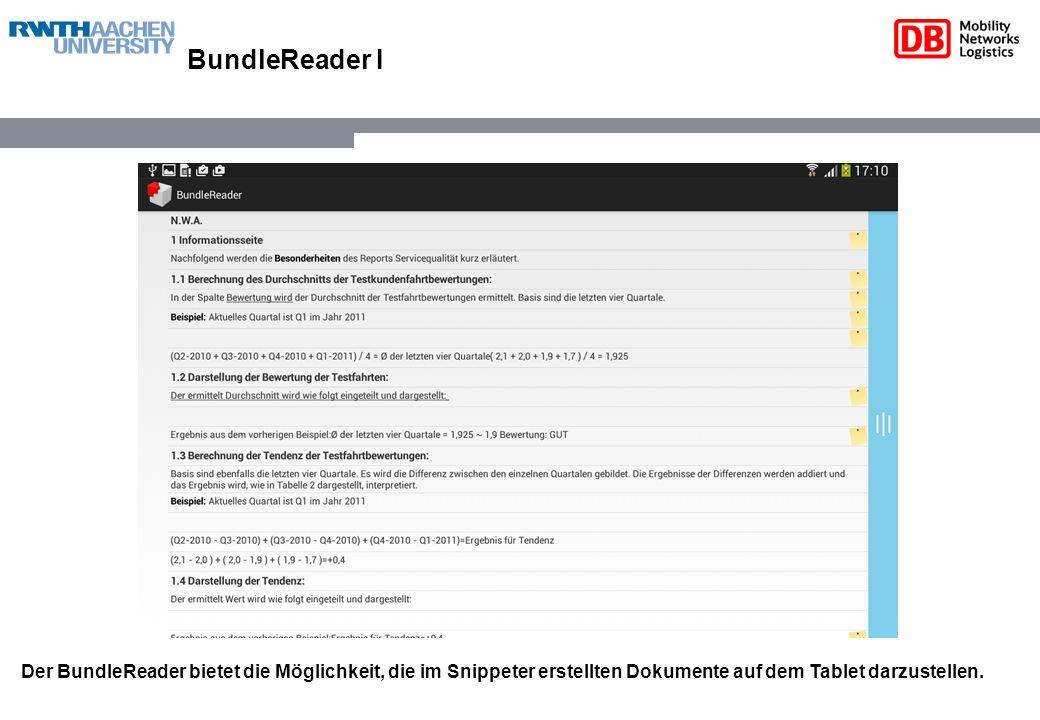 BundleReader II Zu jedem einzelnen Sinnabschnitt (Snippet) können Kommentare in Form von Bildern, Videos, Texten und Audiospuren eingestellt werden.
