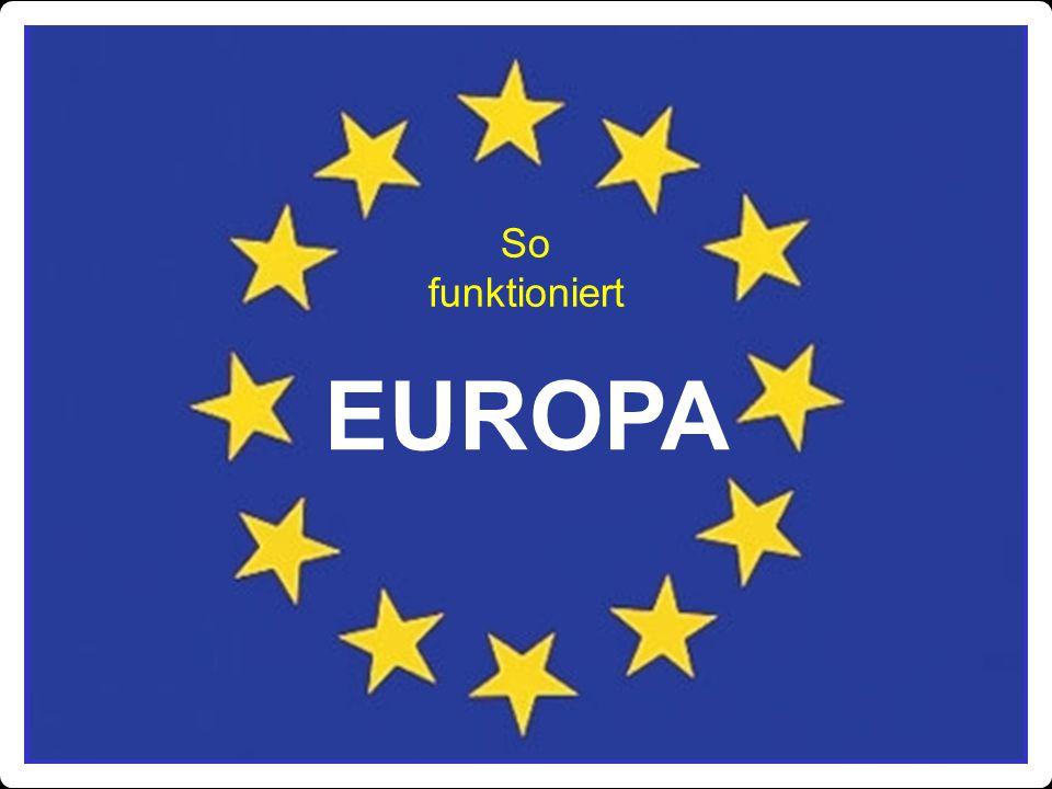 So funktioniert EUROPA