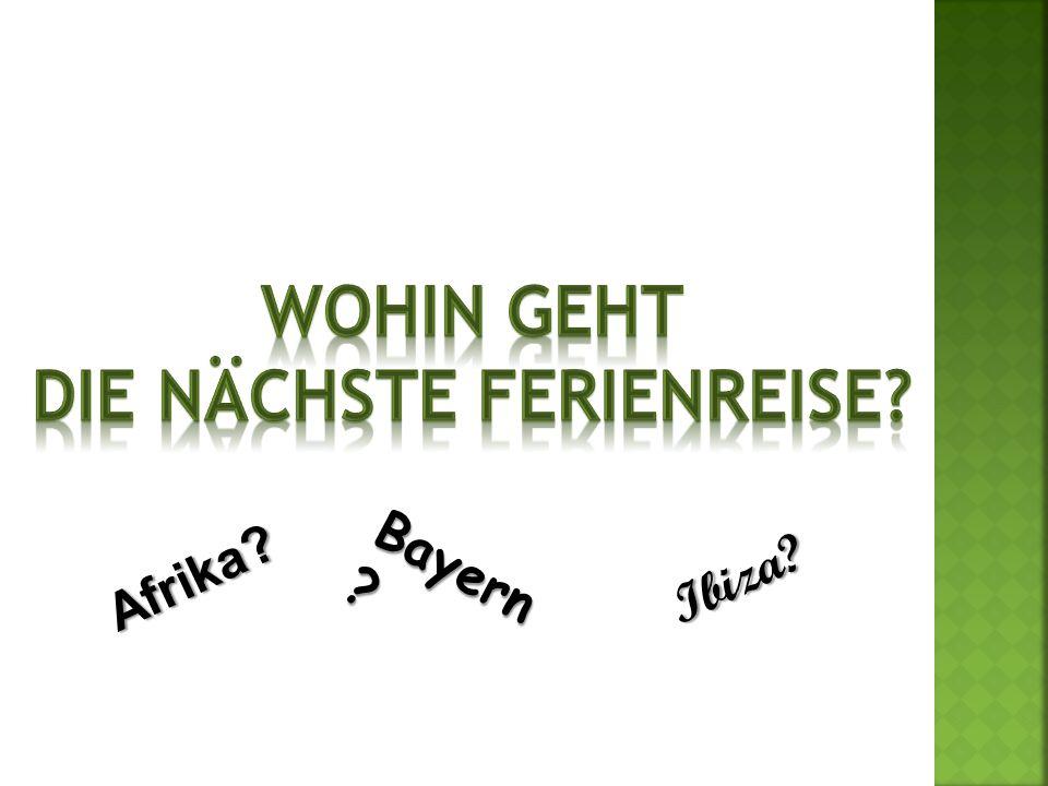 Herr Schumann Frau Schumann Christianund … diskutieren über die nächste Ferienreise! Anke …