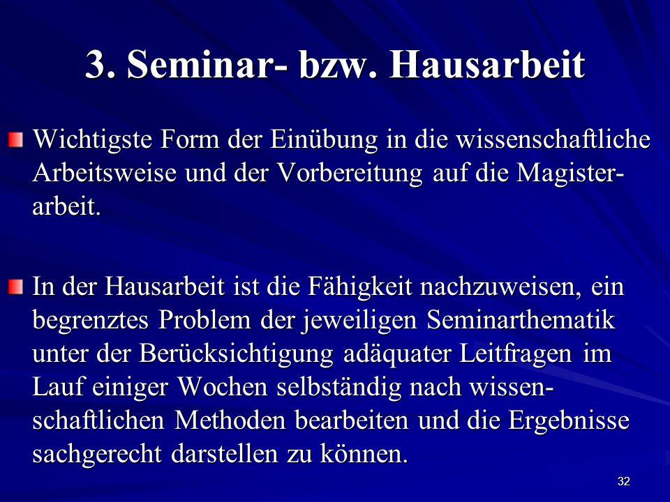 32 3.Seminar- bzw.