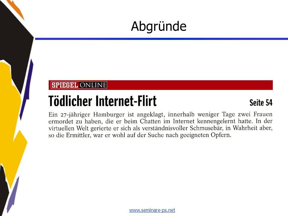 www.seminare-ps.net Abgründe
