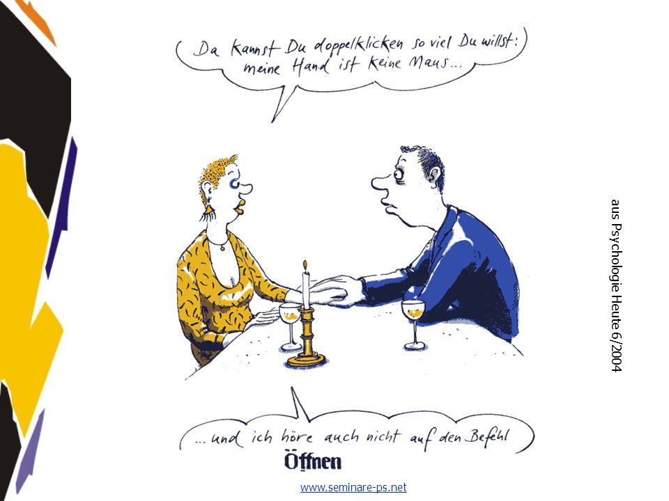www.seminare-ps.net aus Psychologie Heute 6/2004