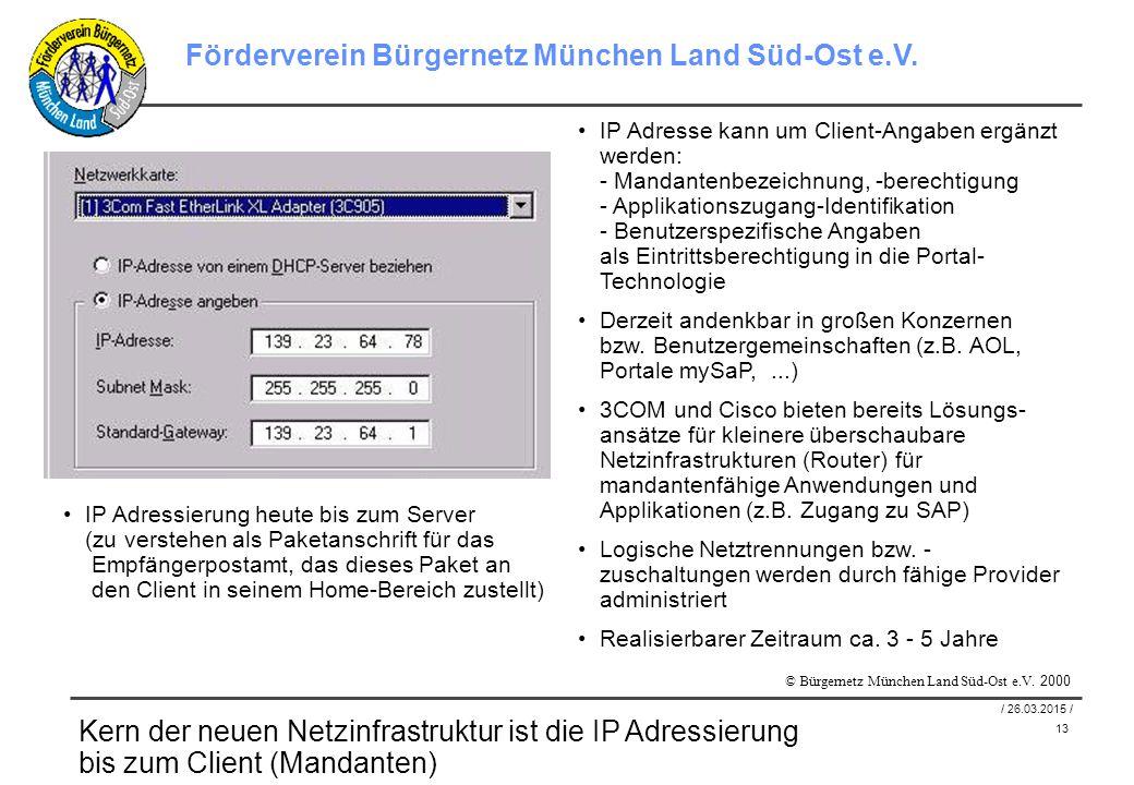 13 / 26.03.2015 / Förderverein Bürgernetz München Land Süd-Ost e.V.
