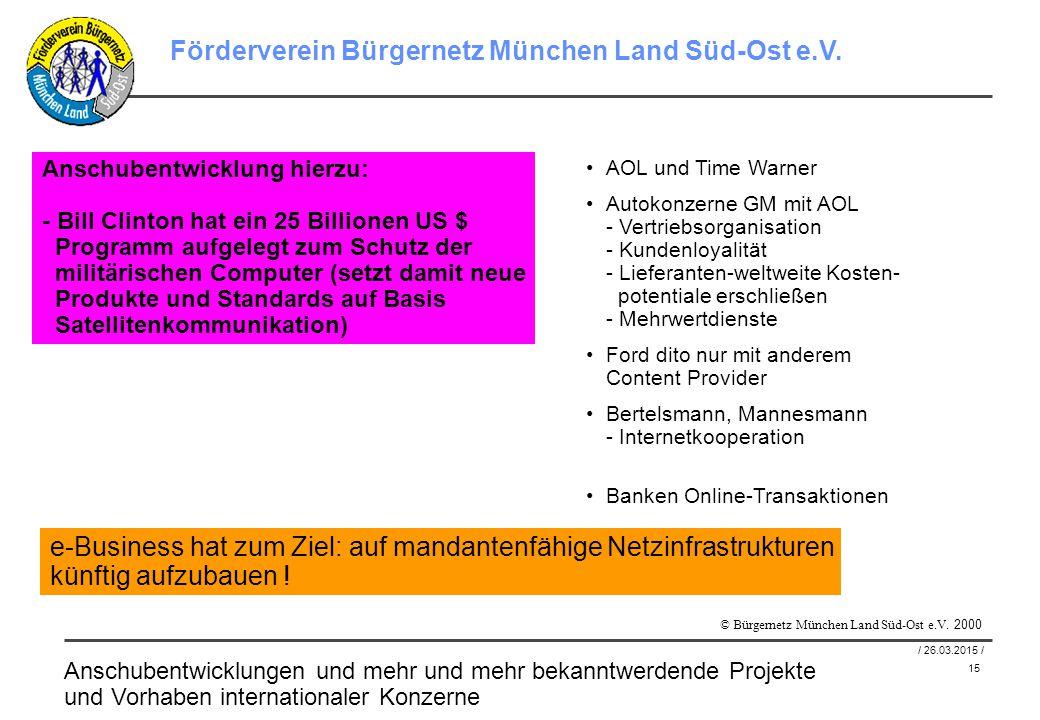 15 / 26.03.2015 / Förderverein Bürgernetz München Land Süd-Ost e.V.