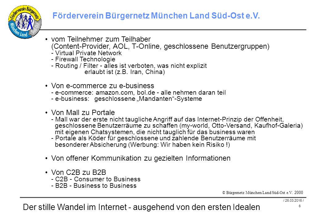 17 / 26.03.2015 / Förderverein Bürgernetz München Land Süd-Ost e.V.