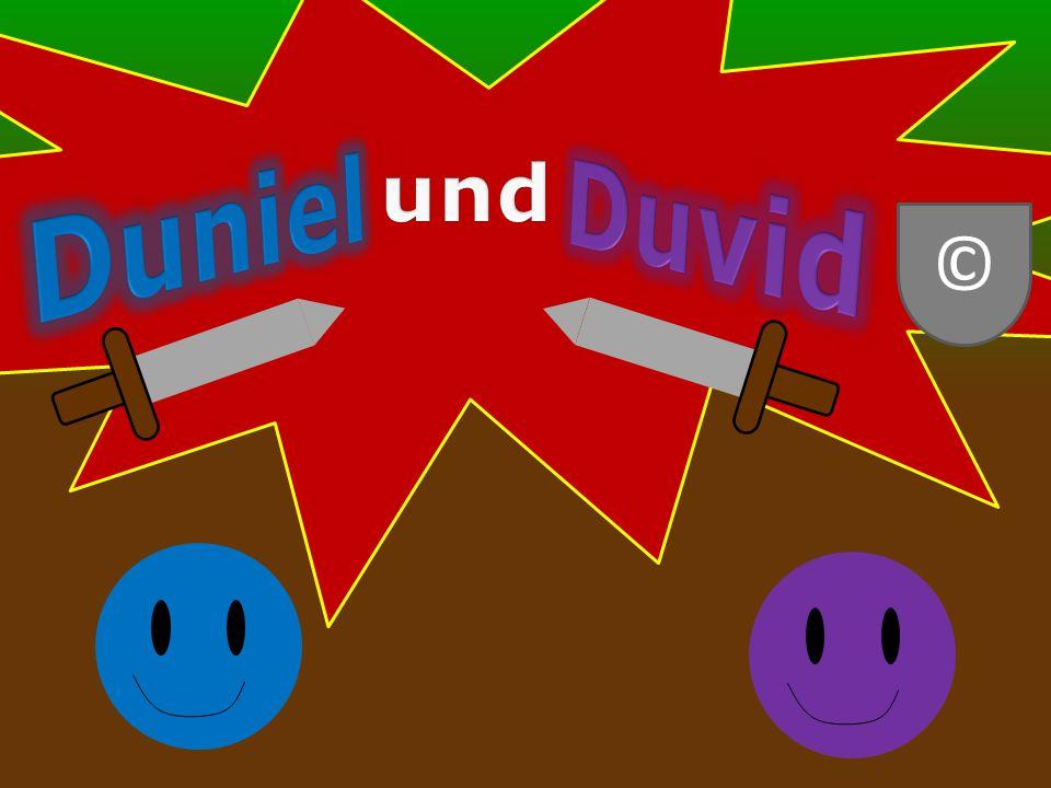 """Eine """"Duniel und Duvid Produktion © Designed by Daniel Hector Casas Gonzalez"""