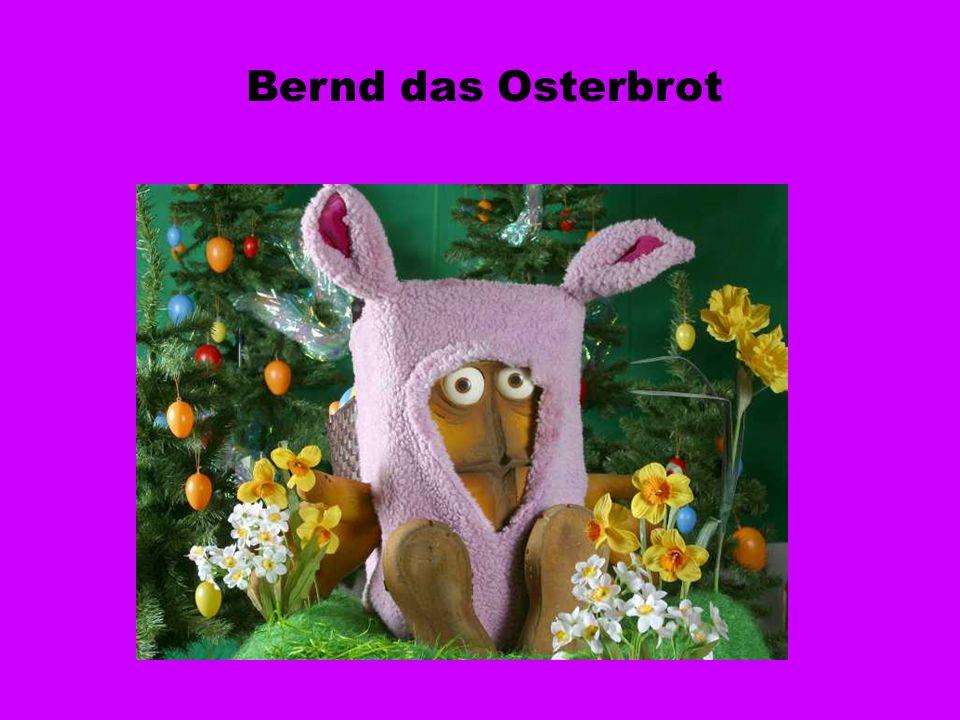 Bernd das Osterbrot