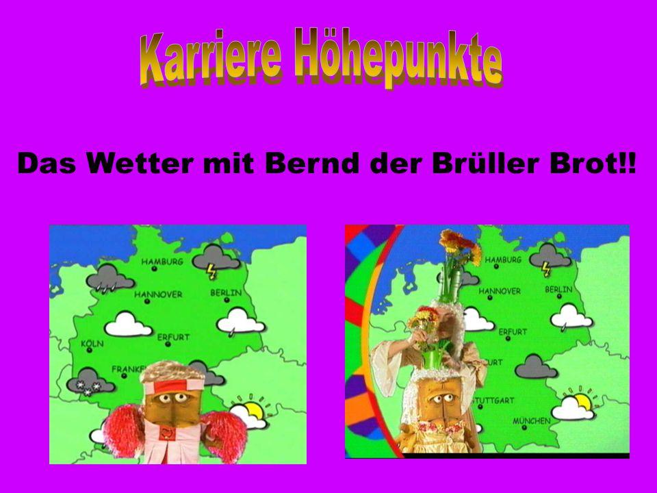 Das Wetter mit Bernd der Brüller Brot!!
