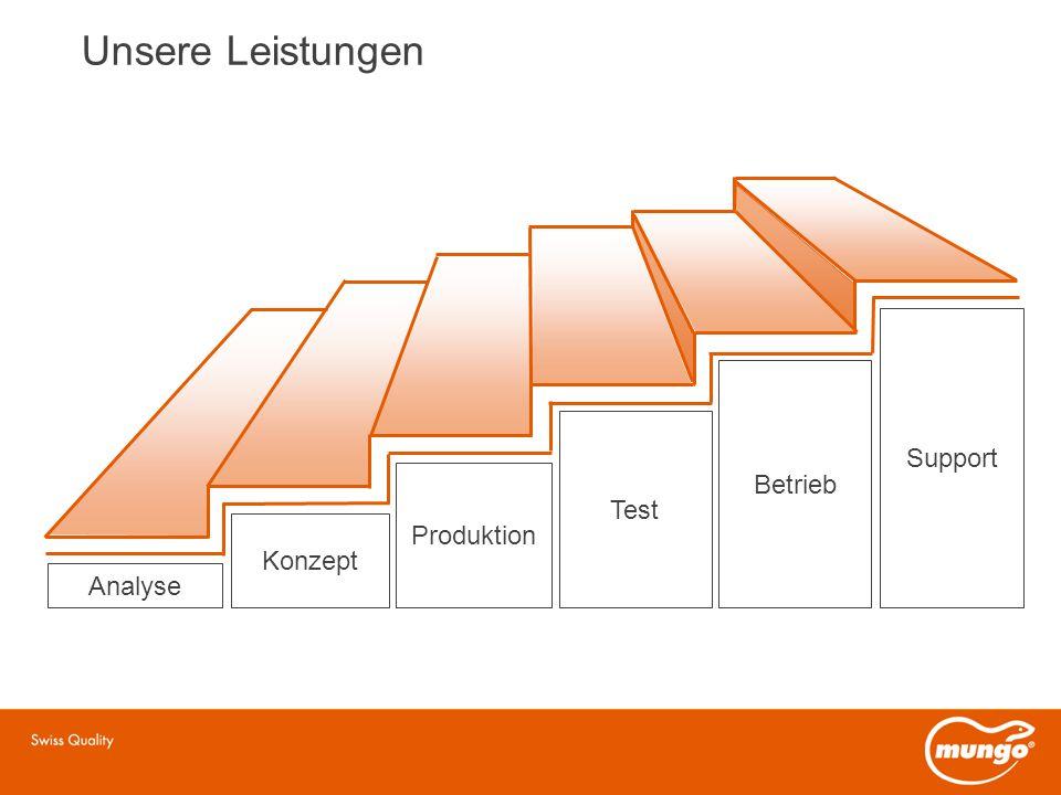 Analyse Konzept Produktion Test Betrieb Unsere Leistungen Support