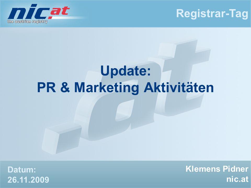 Rückblick auf 2009 Registrar-Tag