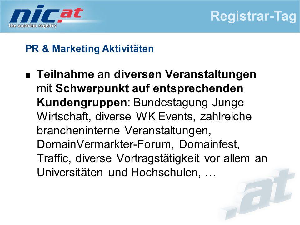 PR & Marketing Aktivitäten Teilnahme an diversen Veranstaltungen mit Schwerpunkt auf entsprechenden Kundengruppen: Bundestagung Junge Wirtschaft, dive