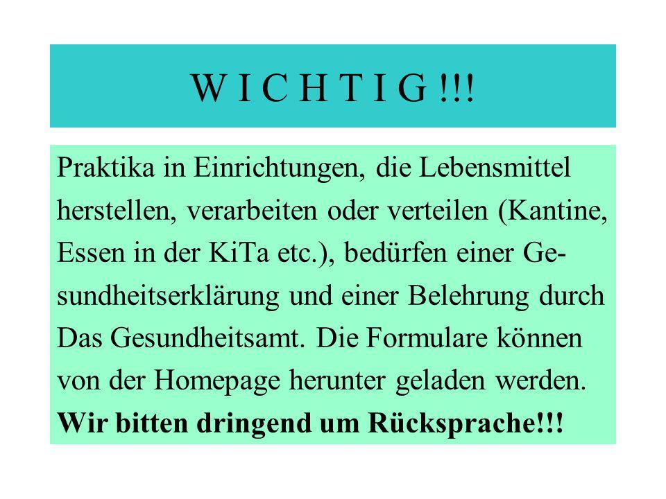 W I C H T I G !!.