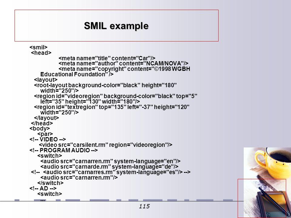 115 SMIL example -->...