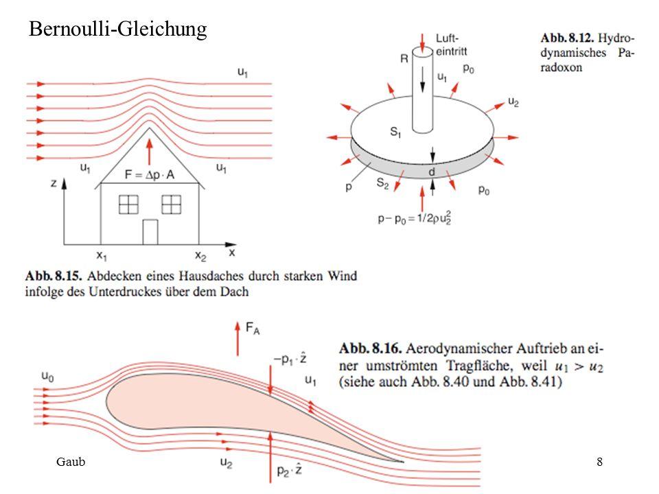 Bernoulli-Gleichung Gaub8