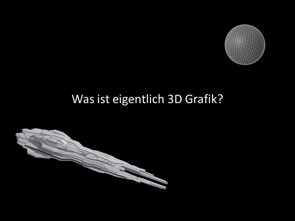 Was ist eigentlich 3D Grafik?