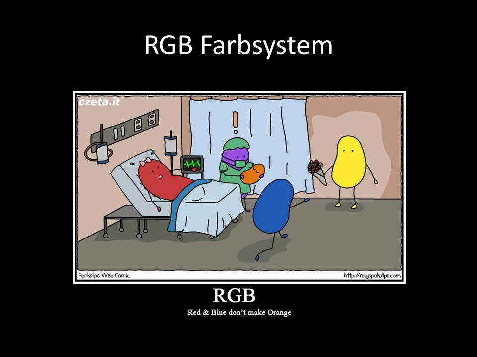RGB Farbsystem