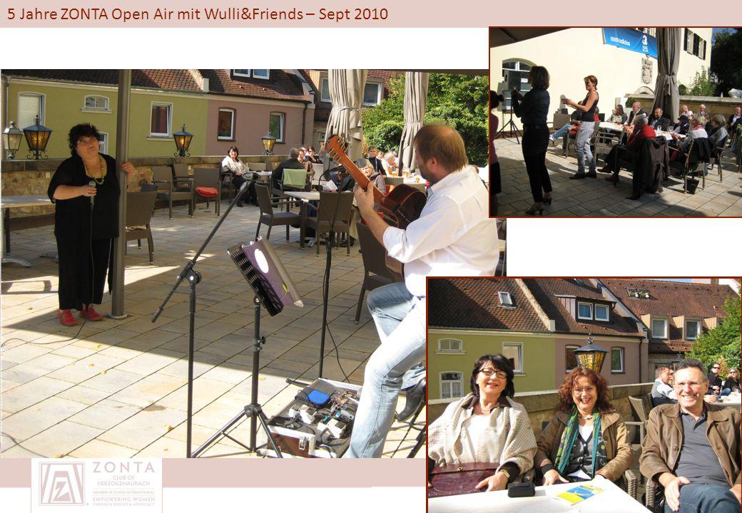 5 Jahre ZONTA Open Air mit Wulli&Friends – Sept 2010