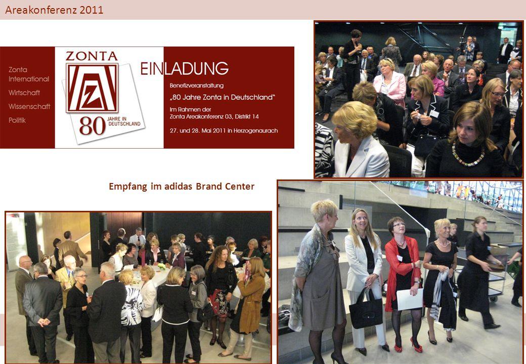 Areakonferenz 2011 Empfang im adidas Brand Center