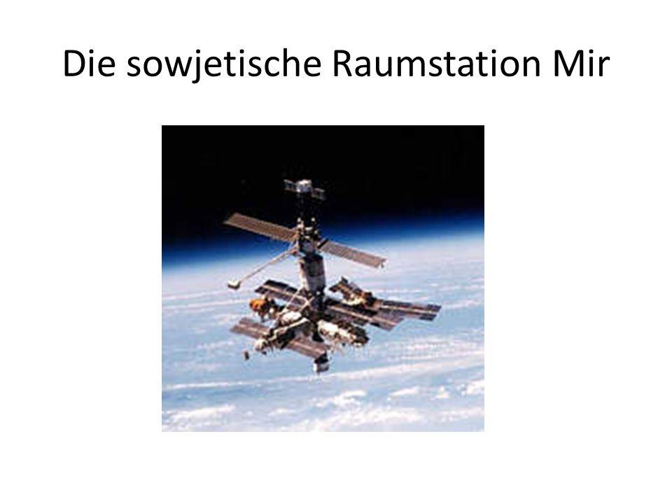 Die sowjetische Raumstation Mir