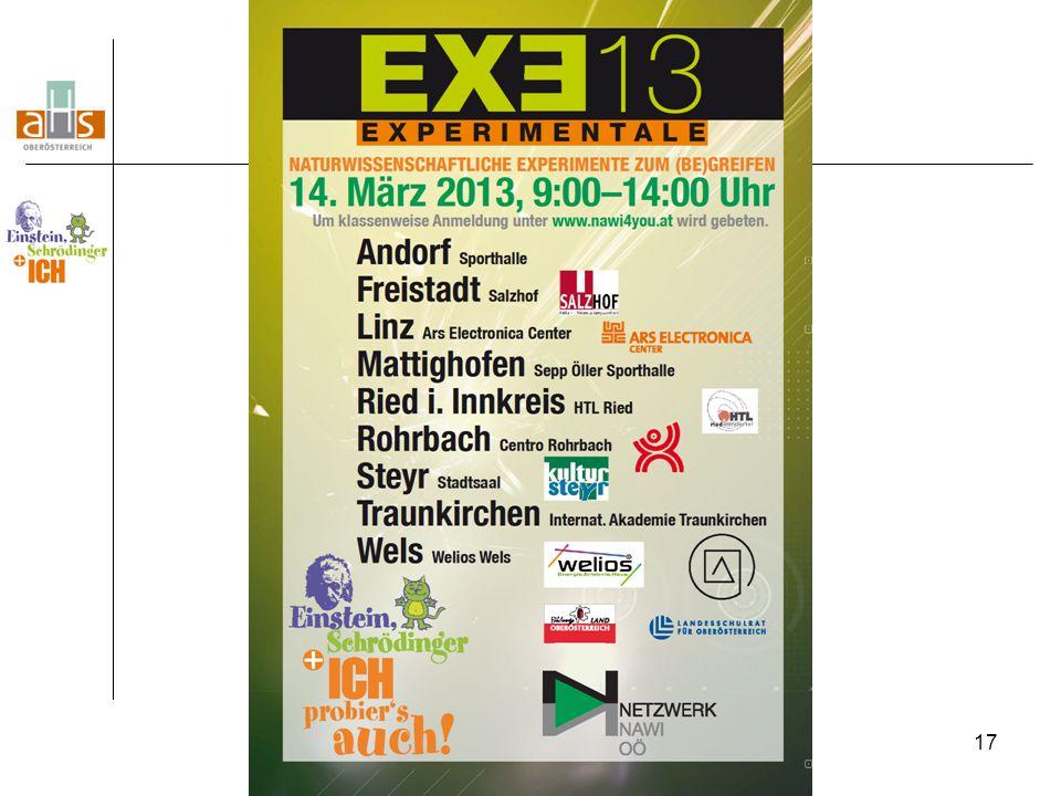 18 EXE-Fahrt im Schuljahr 2013/14: Dienstag, 22.4.