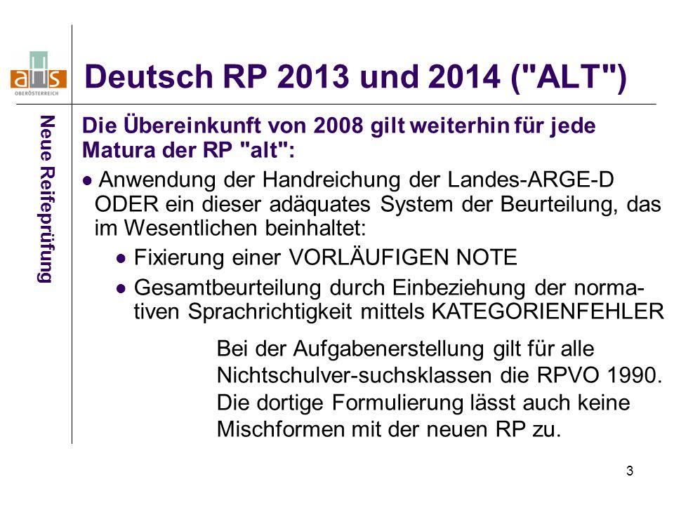 3 Deutsch RP 2013 und 2014 (