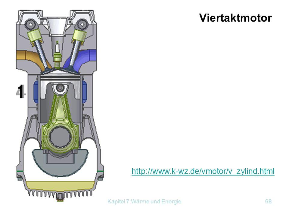 Kapitel 7 Wärme und Energie68 http://www.k-wz.de/vmotor/v_zylind.html Viertaktmotor