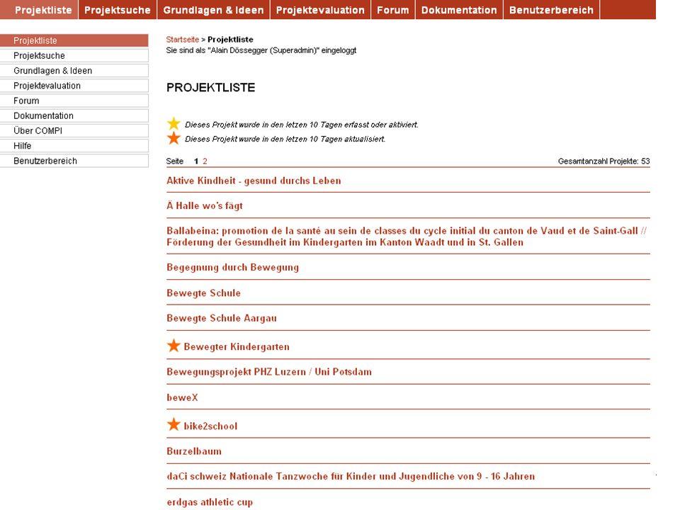 9 Bundesamt für Sport BASPO Ressort Bewegung und Gesundheit