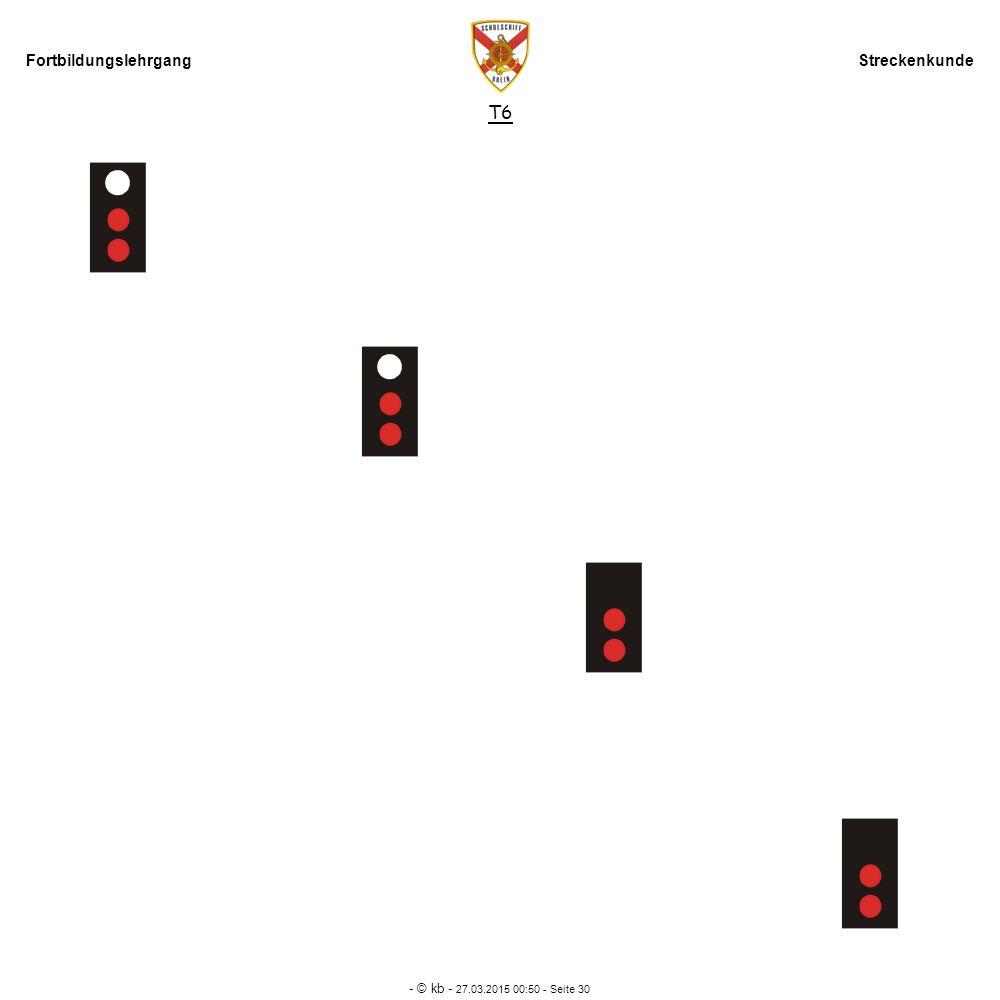 Fortbildungslehrgang Streckenkunde - © kb - 27.03.2015 00:52 - Seite 30 T6