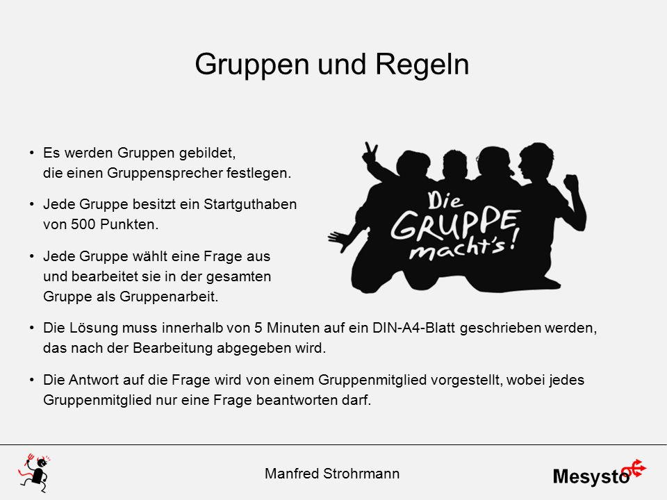 Der große Preis der … Datum Manfred Strohrmann