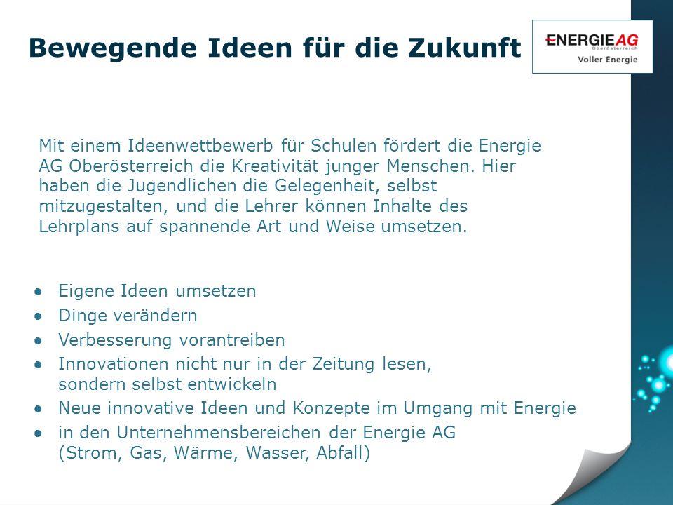 Wer kann am Ideenwettbewerb von Energie AG und ORF Oberösterreich teilnehmen.