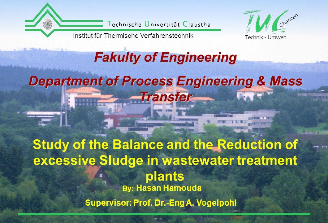 Institut für Thermische Verfahrenstechnik 32 / 32 Summary The New Results in one A4