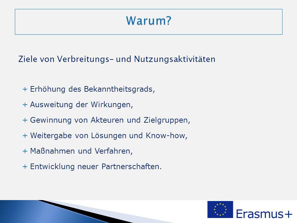+ Programmlogo und grafisch Vorgaben + http://ec.europa.eu/dgs/education_culture/publ/graphics/identity_en.htm + Wenn gegen diese Bestimmung verstoßen wird, kann die Abschlusszahlung gekürzt werden.