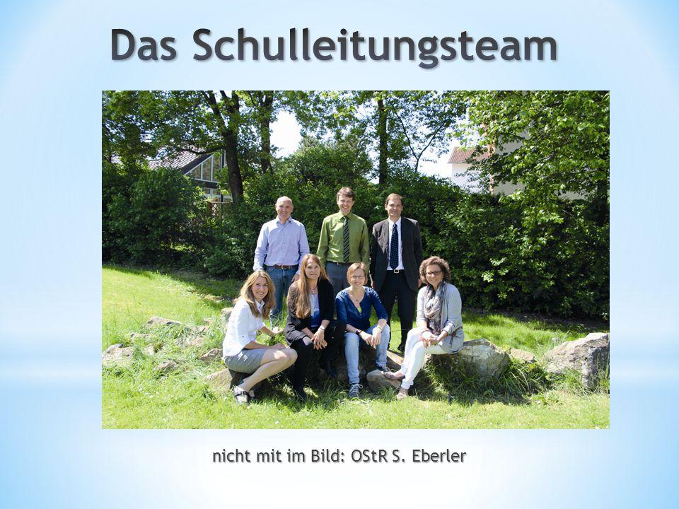 nicht mit im Bild: OStR S. Eberler