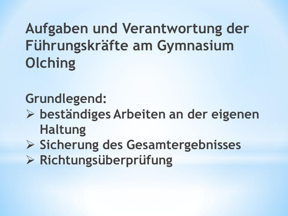 Kleine Teams: Tandems (gemeinsames Entwicklungsgespräch) Lehrer-Schüler-Gespräche (s.